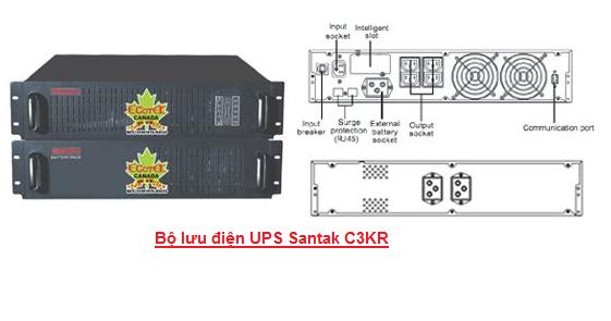 UPS Santak C3KR - dienmaytoanthang