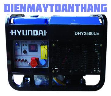 may-phat-dien Hyundai dhy2500le